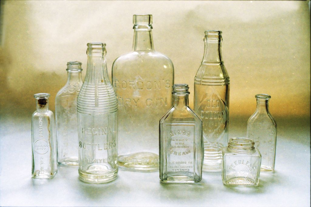 vintage glass bottles dream home pinterest
