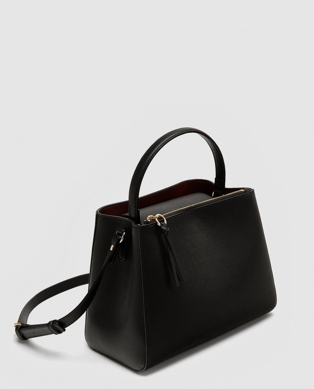 9dd478c156 Image 5 of MEDIUM TOTE BAG WITH ZIP from Zara | SS18 Women's Wear in ...