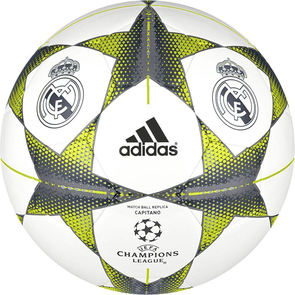 Adidas Footballs Champions League Finale15RM Cap WhiteLead