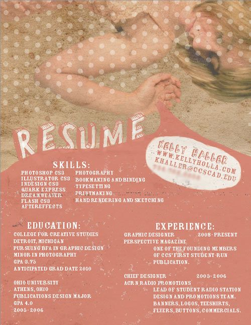 resume-internship-webdesign FASH 145 - Internship Pinterest - resume for internship college student