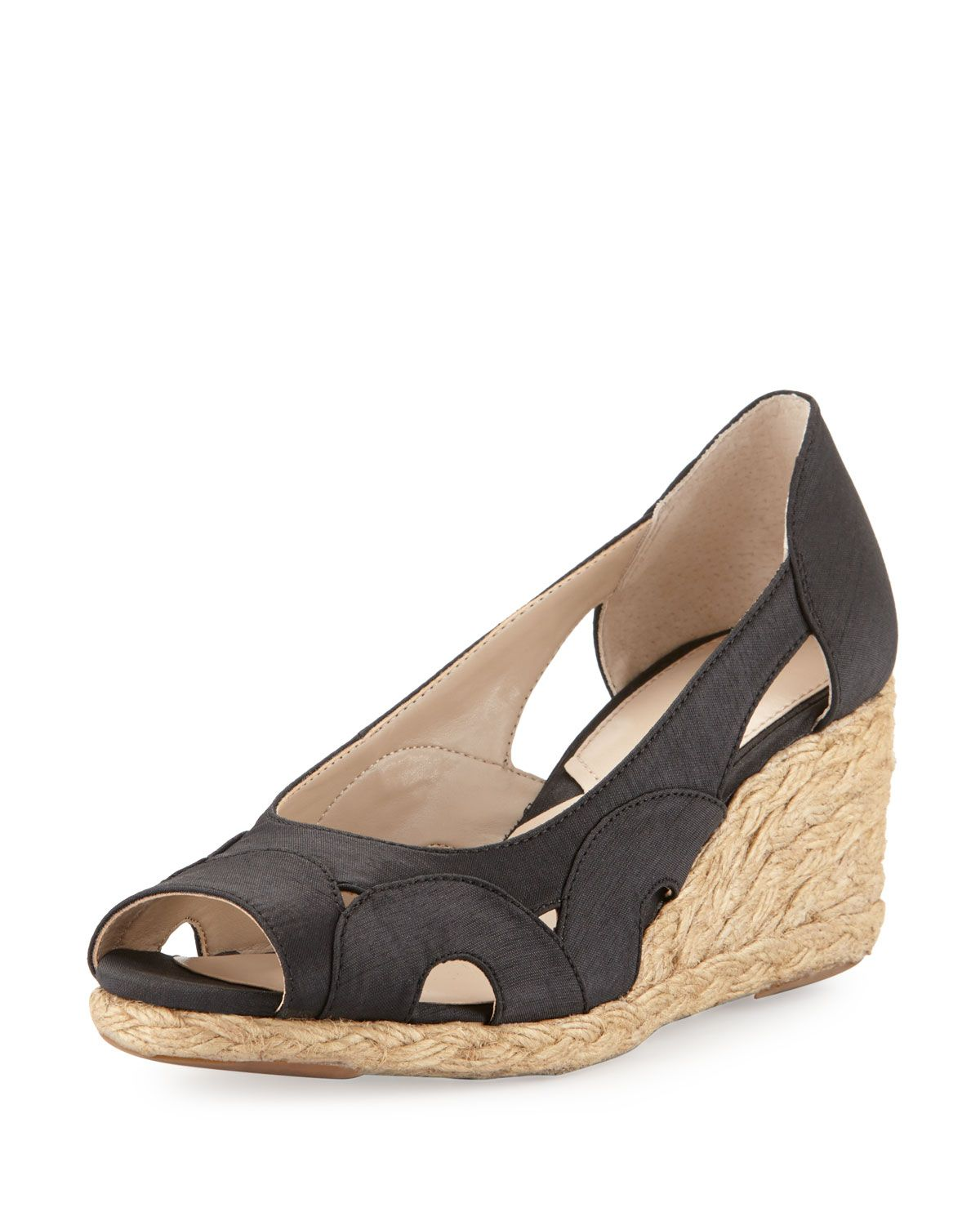 cheap sale professional outlet clearance store Adrienne Vittadini Cutout Slingback Sandals under $60 cheap price 8EmPa