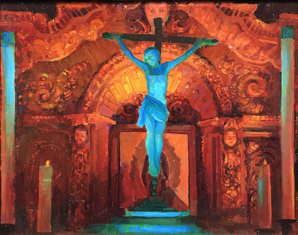 American Legacy Fine Arts Presents Crucifix And Retablo At Serra Ch Serra Mission San Juan Capistrano San Juan Capistrano