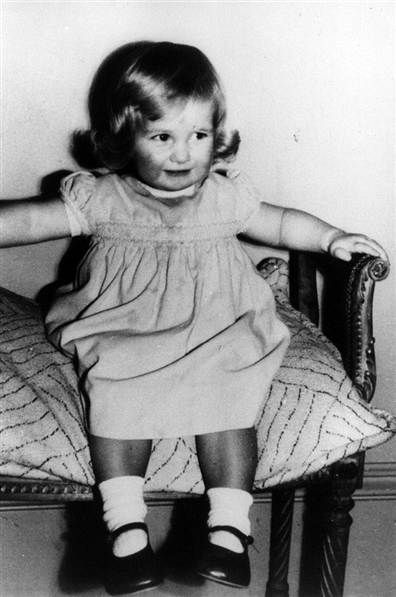 Diana Frances Spencer, later Diana Princess of Wales (1961-1997), is shown on her 2nd birthday, July 1, 1963, at Park House, Sandringham, Norfolk, England.