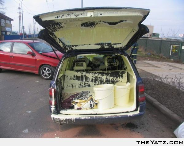 Who Left The Lids Open Funny Pictures Having A Bad Day Funny Photos