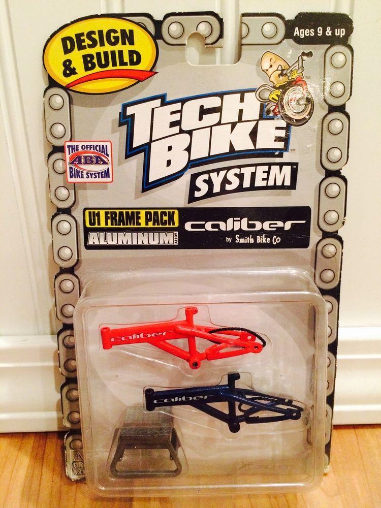Rare Tech Deck Bmx Dirt Finger Bike System Aluminum U1 Frame Pack Caliber Nib Tech Deck Bike Bmx Dirt