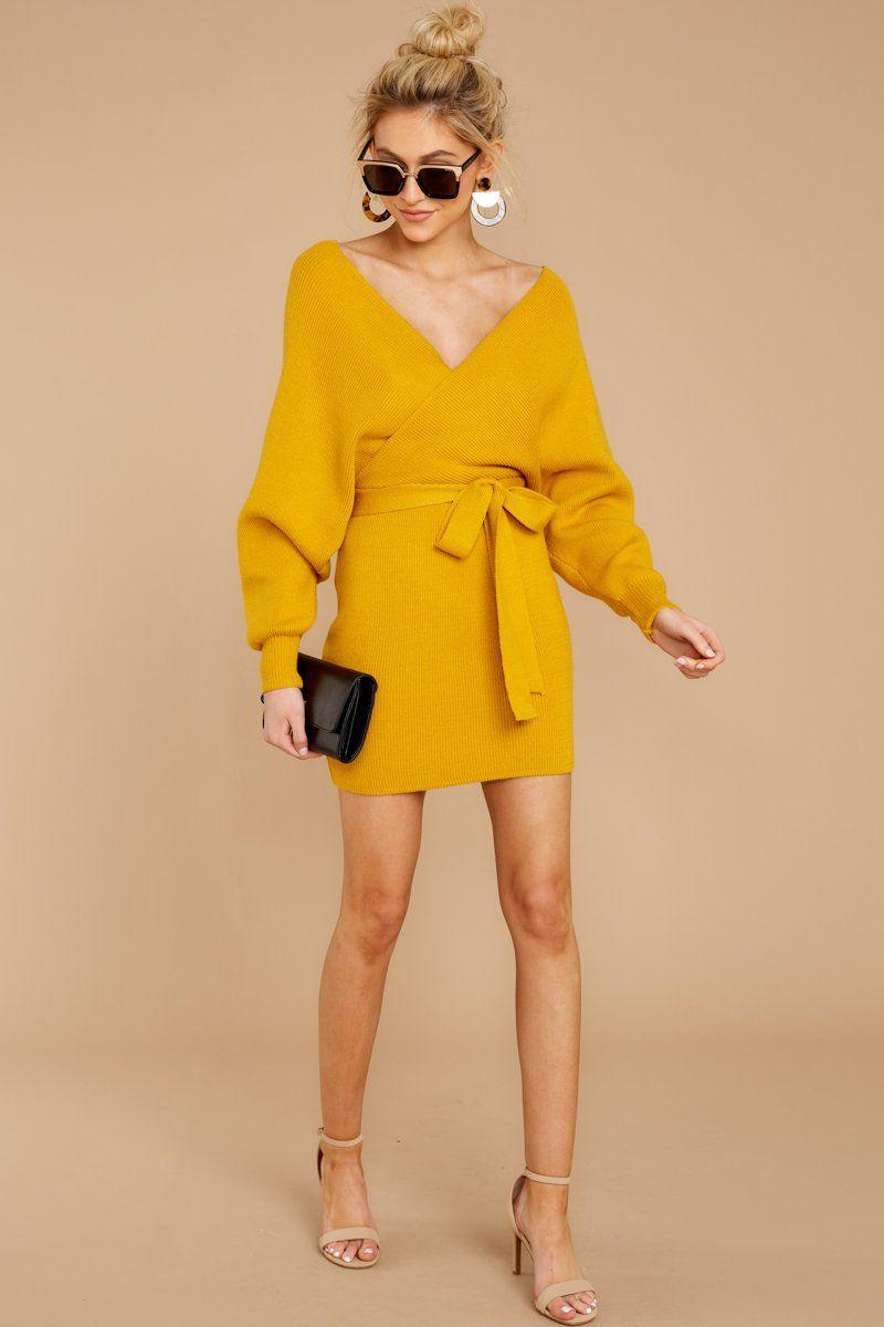Trendy Yellow Knit Sweater Dress Short Sweater Dress Dress 49 Red Dress Boutique Yellow Sweater Dress Yellow Dress Casual Yellow Dress Outfit [ 1200 x 800 Pixel ]