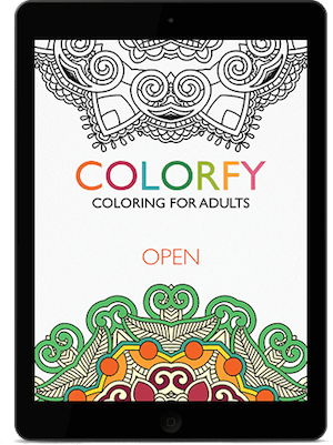 Click to get the Colorfy mobile app | coeur | Pinterest | Adult ...