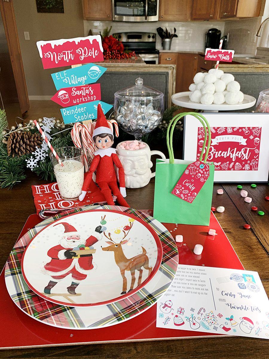 North Pole Breakfast 2019 – Free Elf on the Shelf Printables