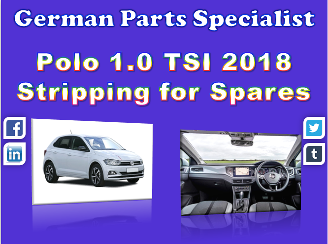 Here At German Parts Specialist We Are Stripping A Wide Range Of
