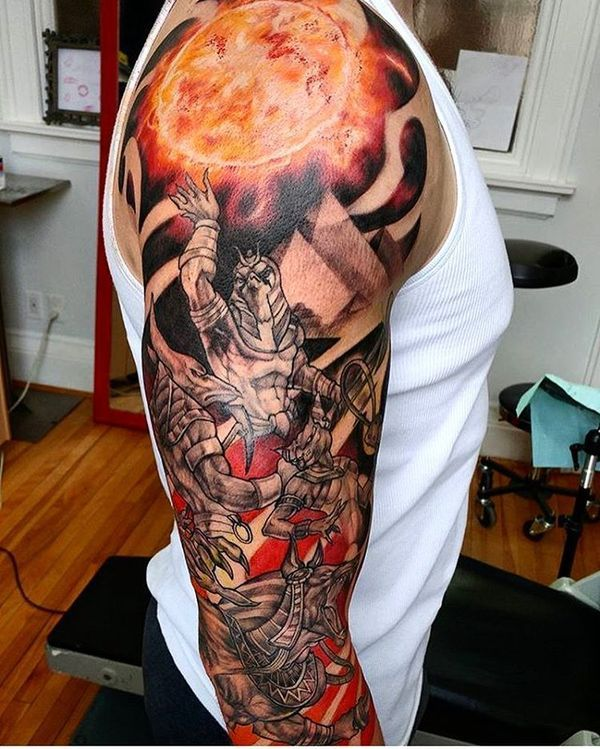 54 Egyptian Tattoos Ideas with Meanings // April, 2020 ...