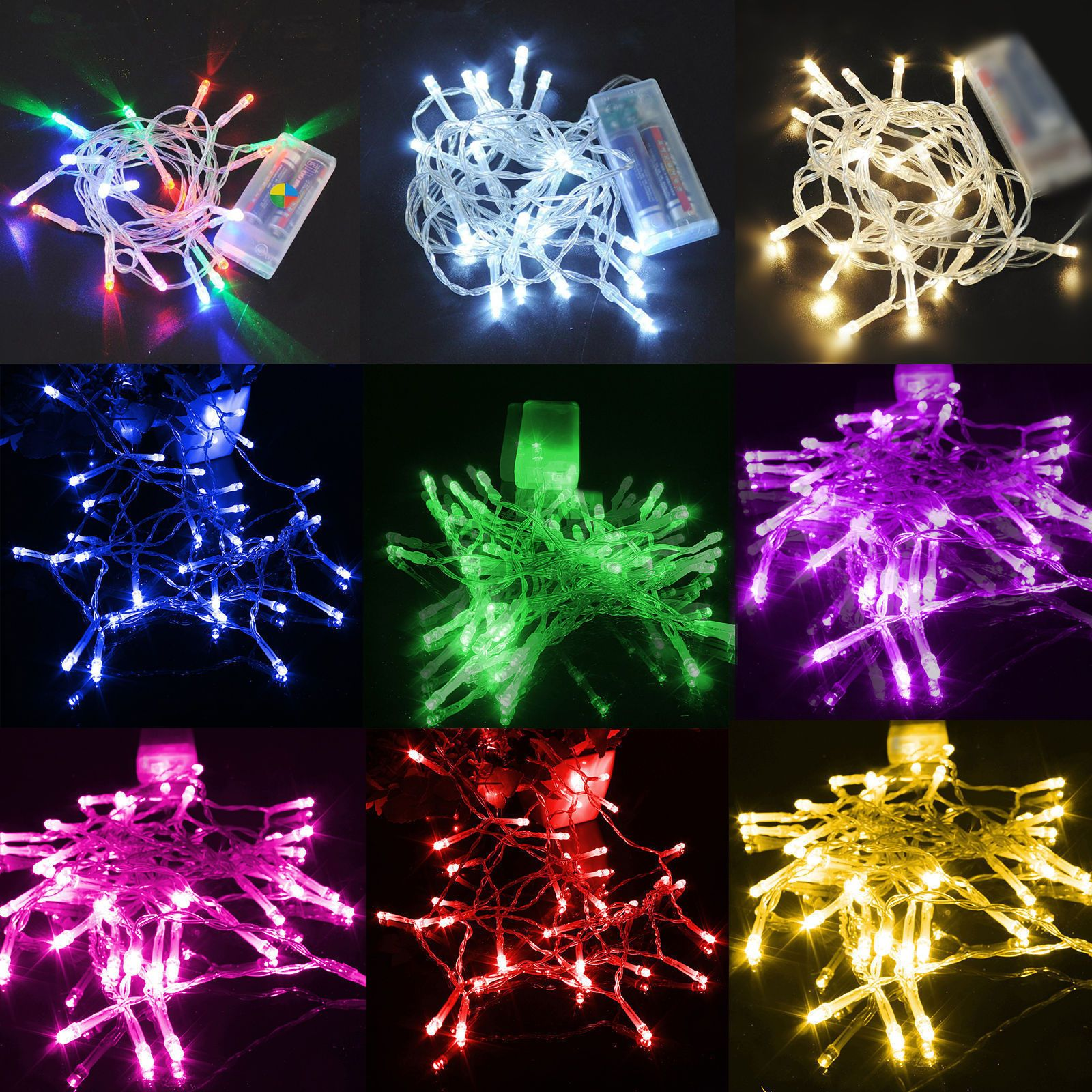 $099  1 10M Led Batterysolar Fairy String Light Outdoor Wedding