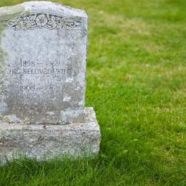 The Best Way To Clean Headstones Ehow How To Clean Headstones Headstones Granite Headstones