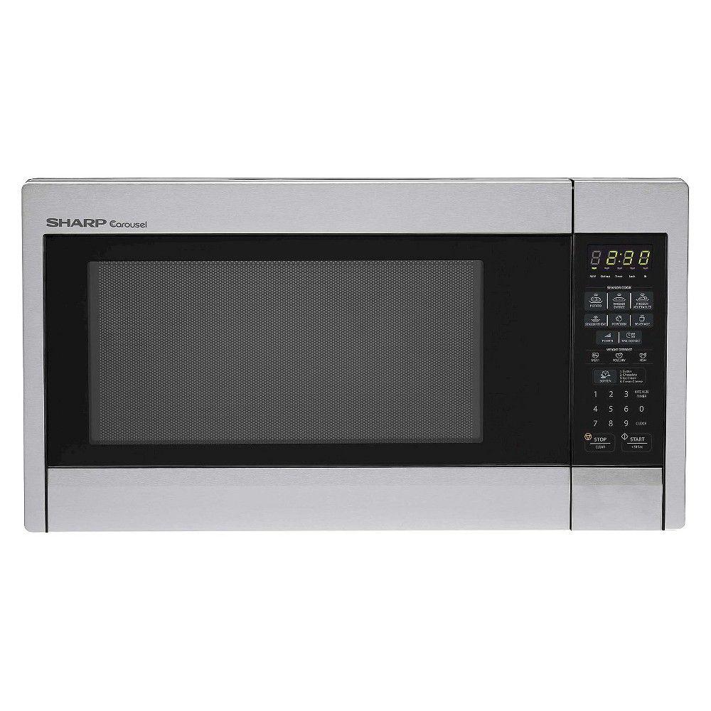 Sharp Carousel 1 3 Cu Ft 1000 Watt Countertop Microwave Oven