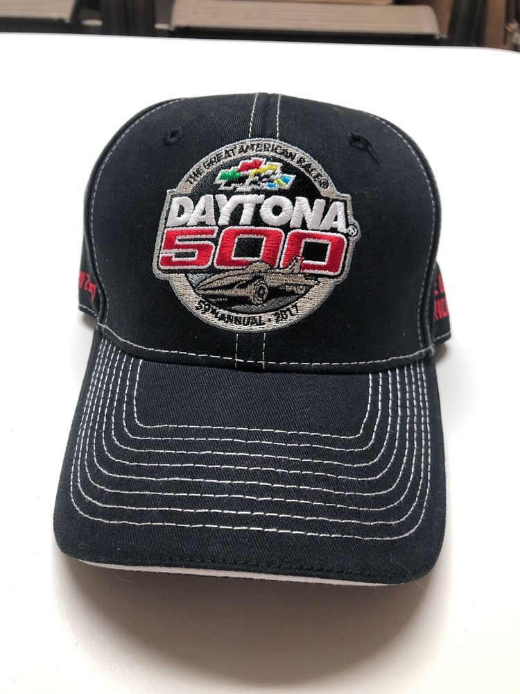 MEN S NASCAR DAYTONA 500 59TH ANNUAL FEBRUARY 26 2017 BLACK BASEBALL CAP  NWOT  fashion  clothing  shoes  accessories  mensaccessories  hats (ebay  link) 091714392409