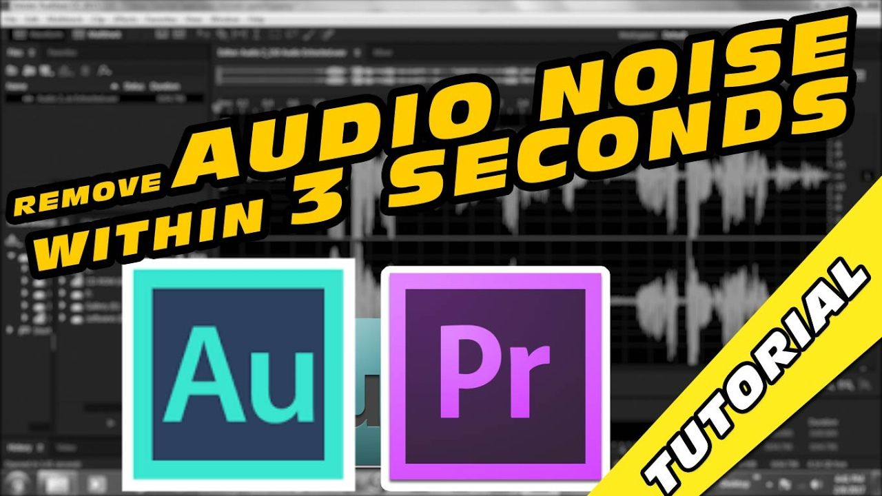 How to Remove Audio Noise Within 3 Seconds in Adobe