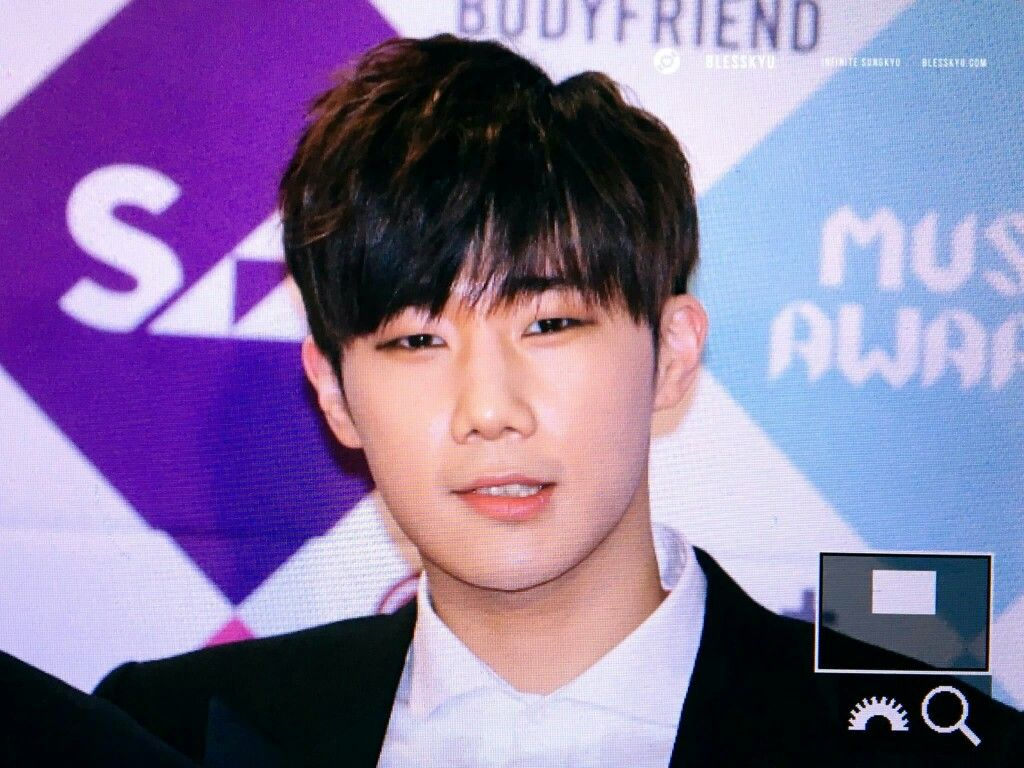 161226 SBS Gayo Daejun Red Carpet #INFINITE #SungKyu