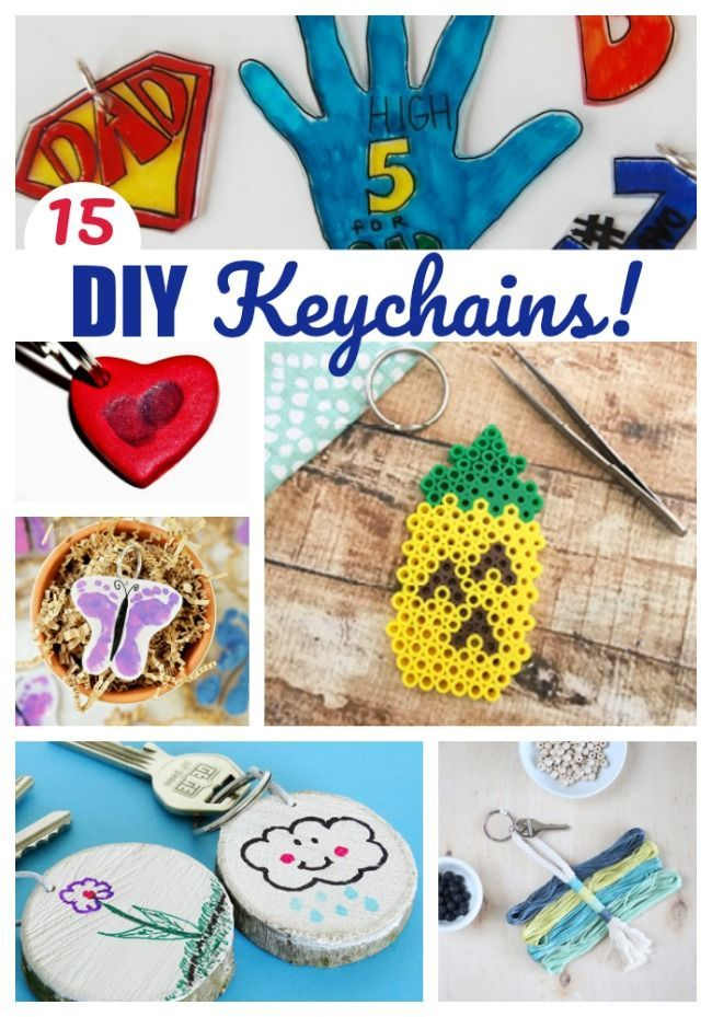 Great Kids Craft Idea And Gift Diy Keychains Yes Mom Ideas