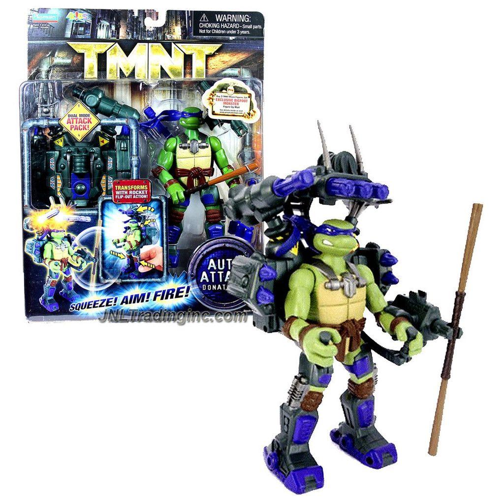 tmnt movie toys 2007