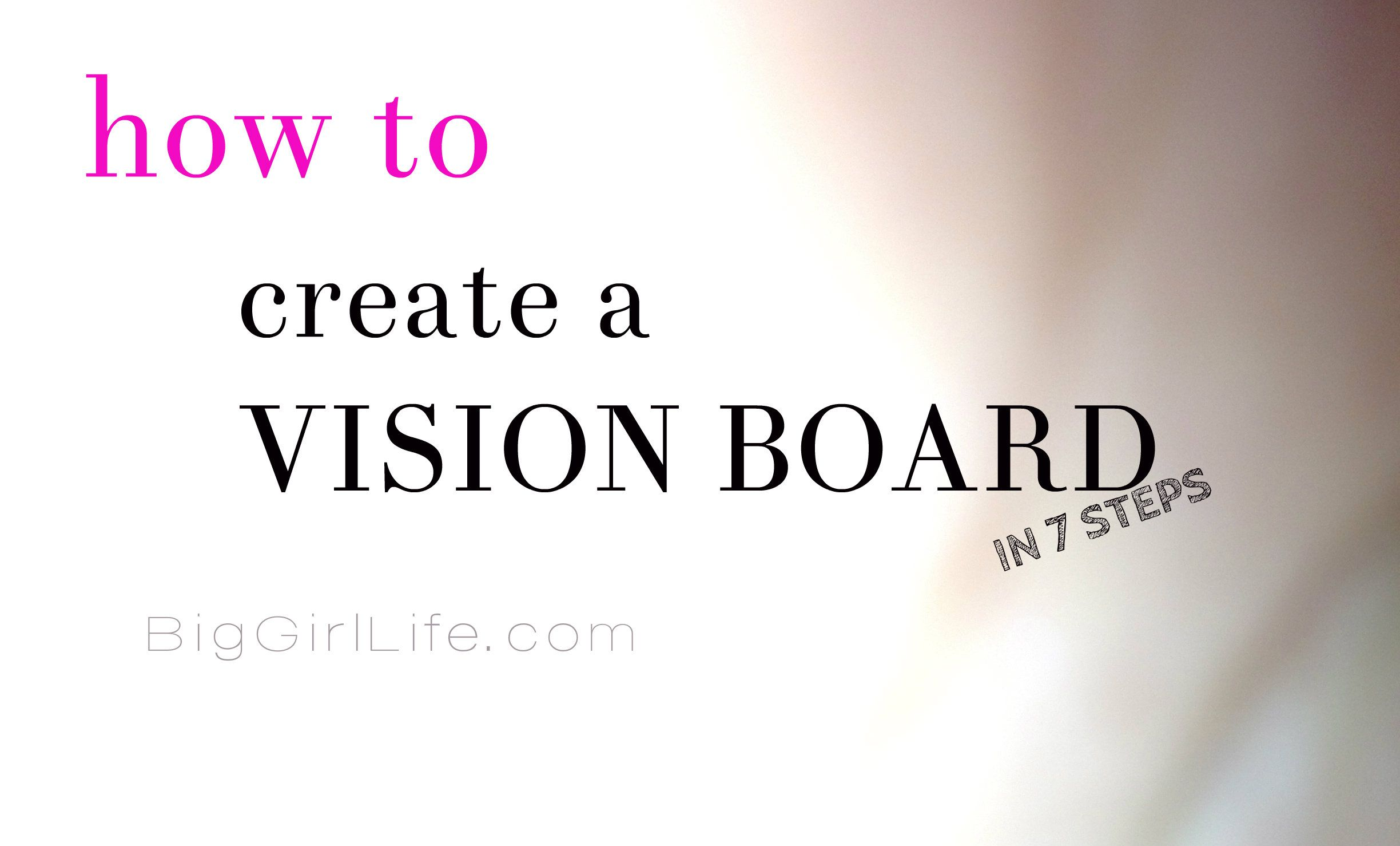 How To Create A Vision Board | crafts | Creating a vision ...