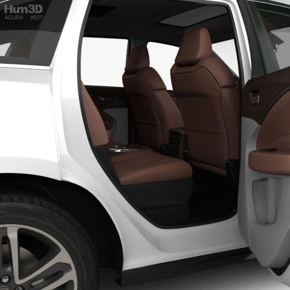 Acura MDX Sport Hybrid With HQ Interior 2017 #AD #Sport