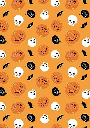 image relating to Printable Halloween Paper identified as Free of charge printable halloween paper / by way of babalisme, by means of Flickr