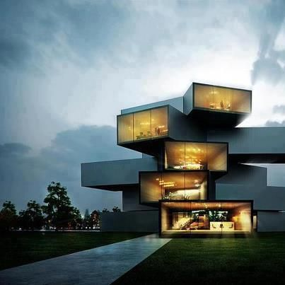 Congratulations To Sergio Mereces On This Stunning Arch Vis Project Of A Modern  Home And Office Space