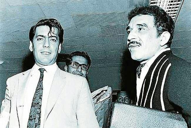 Vargas Llosa con Gabo