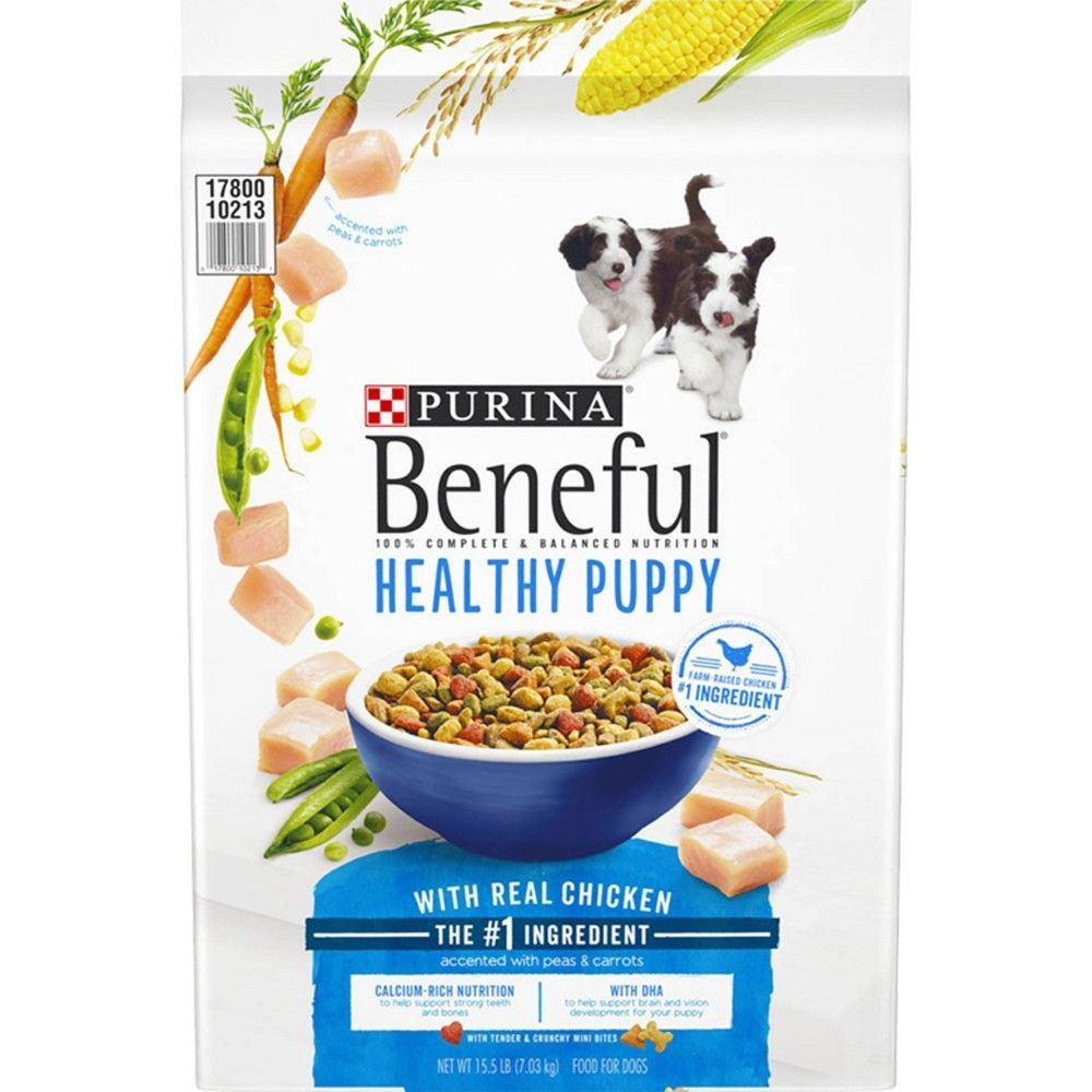 Purina Beneful Healthy Puppy Dry Dog Food 14lbs Adult Unisex