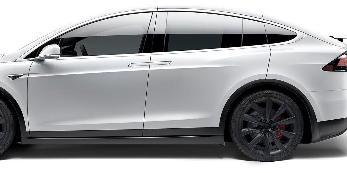 Model X Tesla Design Mystery Solved For The Tesla Model X 2019 Tesla Model X Review Autotrader Tesla S Next Mo Tesla Model X Tesla Car Models Tesla Model