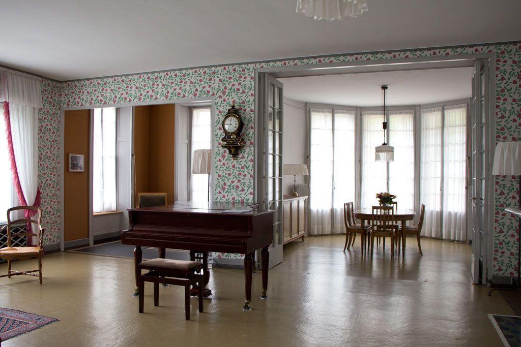 Schweiz Jura U2013 Le Corbusier U2013 La Maison Blanche U2013 Blick Ins Wohn  Und  Esszimmer