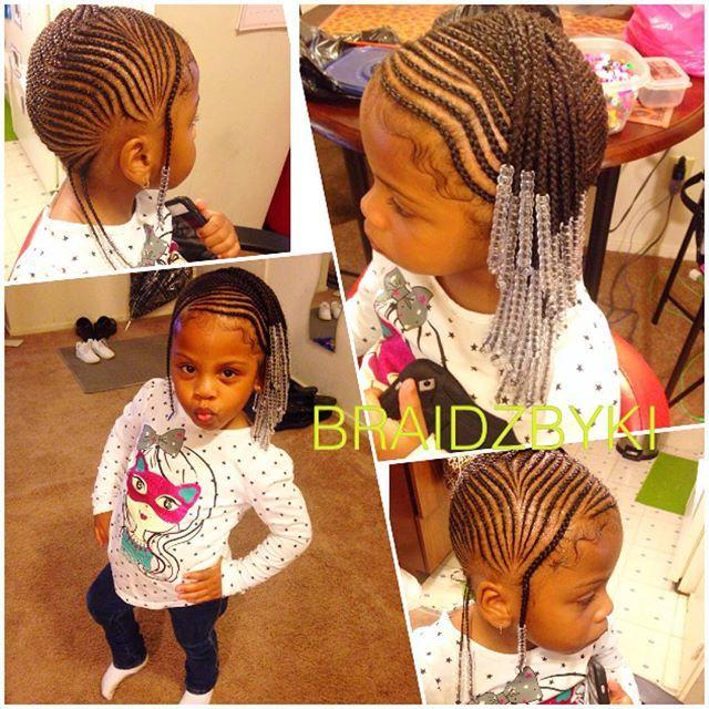 Pinterest; Flawlessmia | | Kids braided hairstyles, Little