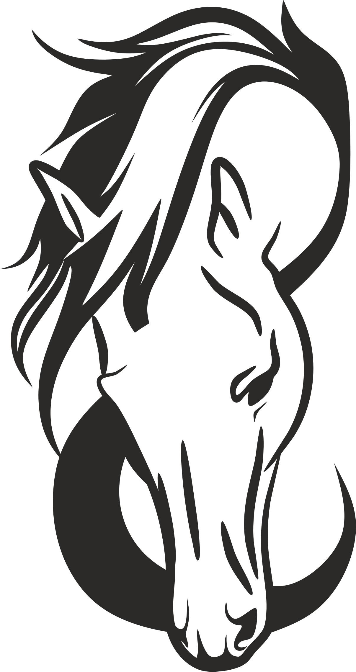 Horse Head Silhouette Png Icons Horse Silhouette Horse Stencil Horse Tattoo Design