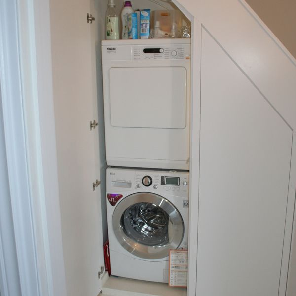 Under Stairs European Laundry Home Decor Ideas Pinterest Laundry Tumble Dryers And