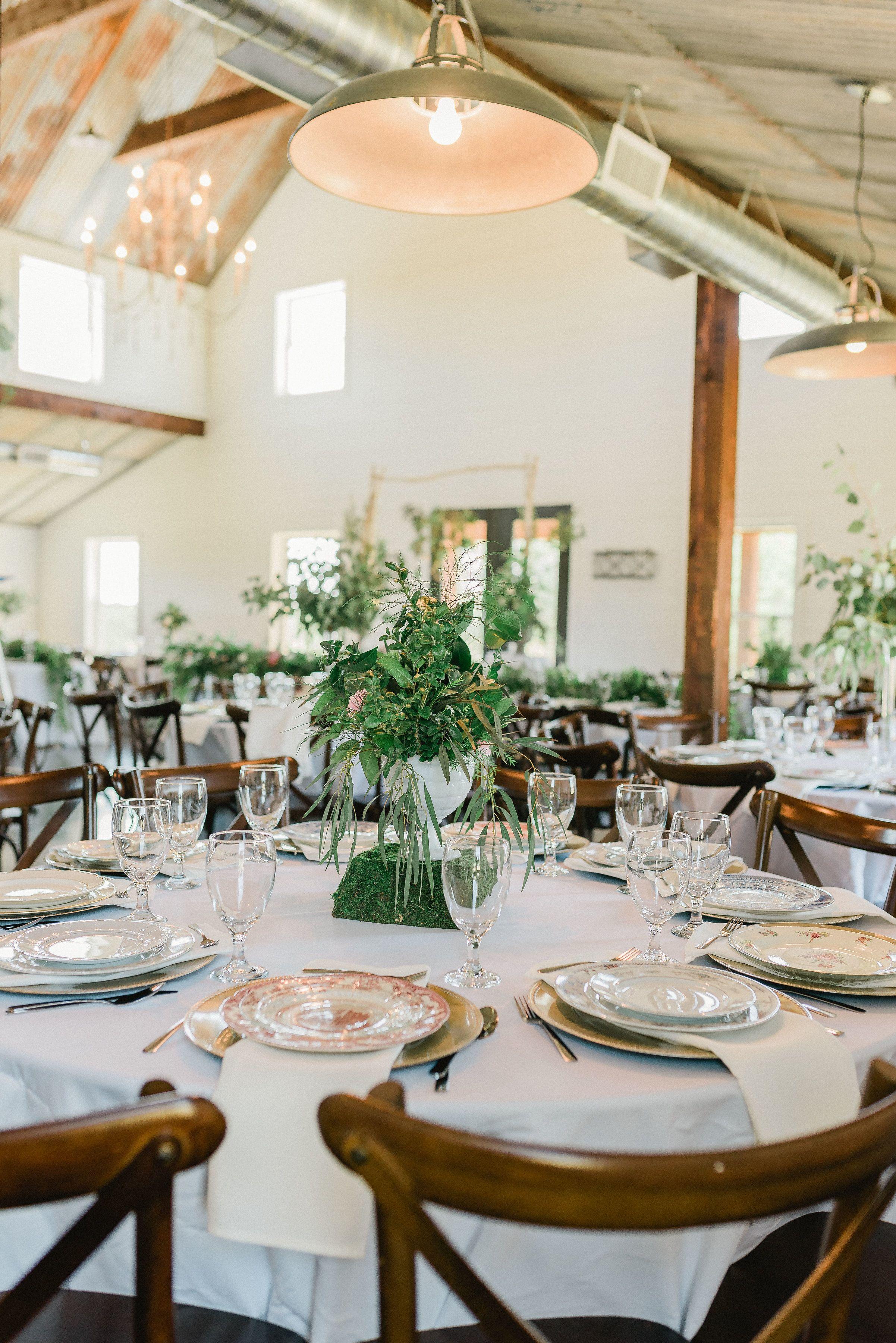 Five Oaks Farm, vintage industrial farmhouse wedding venue