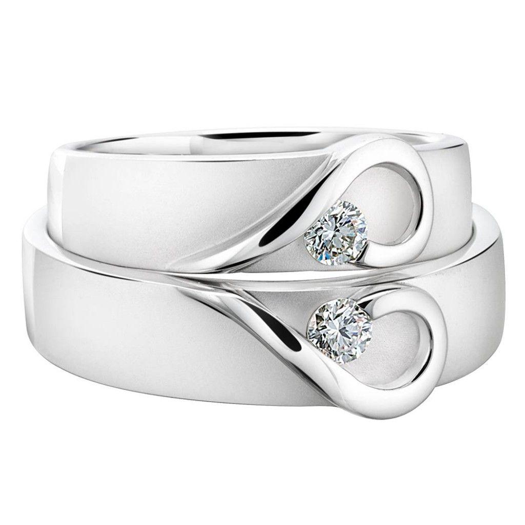 Shimmernshinediamondstoneweddingringset
