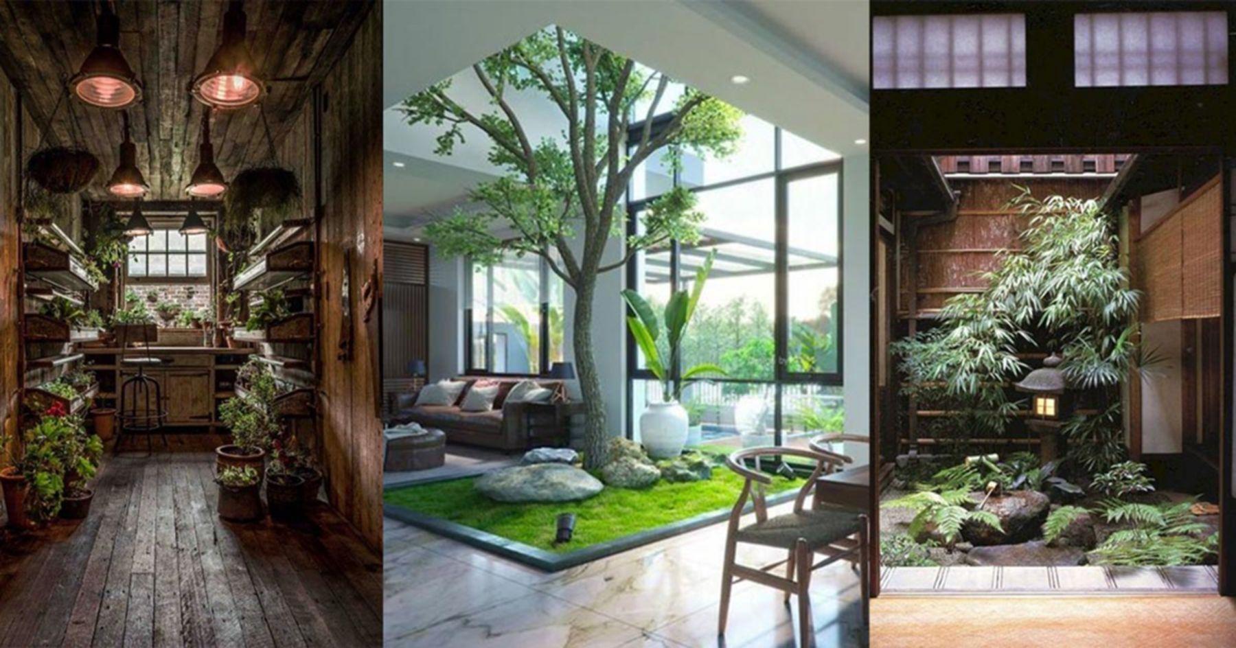 8 Perfect Indoor Garden Design Ideas For Fresh House Small Urban Garden Indoor Garden Home Aquarium