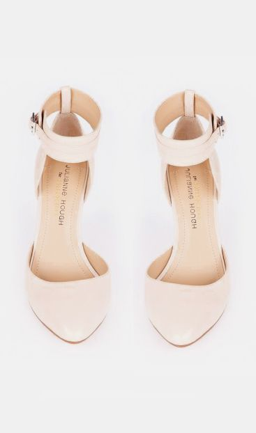 strapped heels | SHOES | Pinterest | Nude pumps, Ankle strap ...