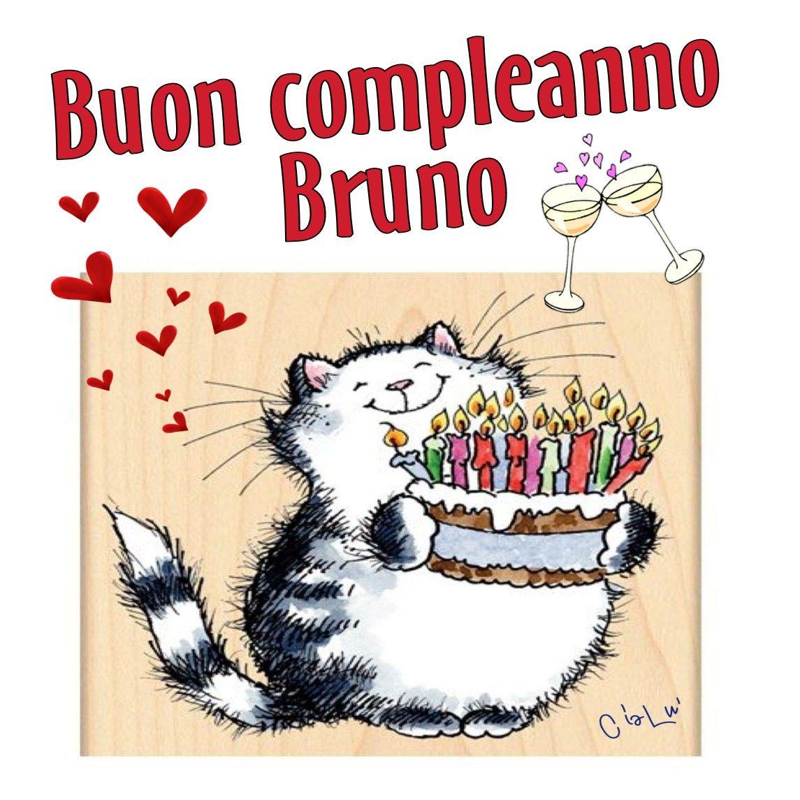 Buon Compleanno Bruno Buon Compleanno Compleanno E Onomastico