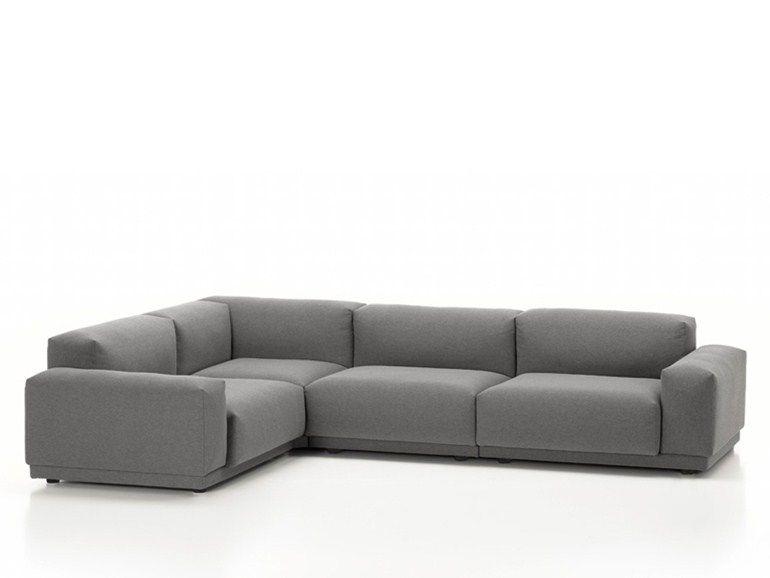 Sectional Sleeper Sofa Vitra design Jasper Morrison Modular sofa PLACE SOFA