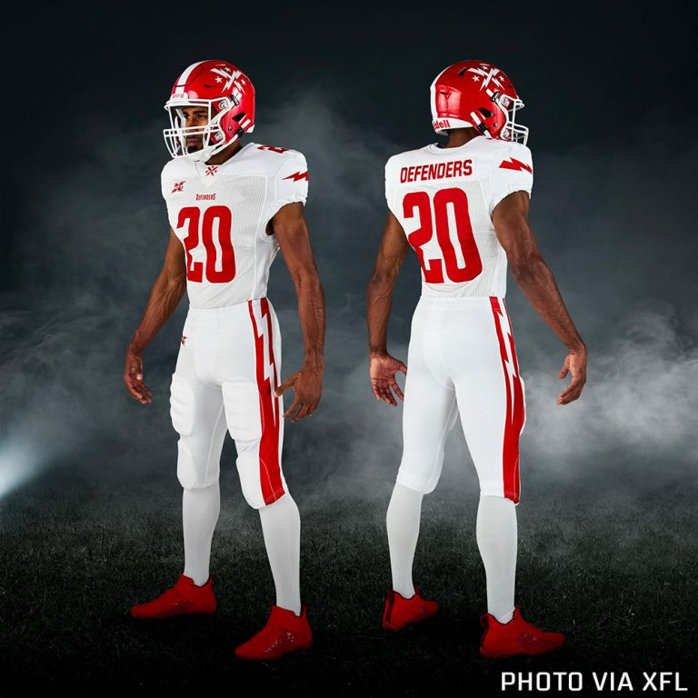 Xfl Unveils Team Uniforms For 2020 Chris Creamer S Sportslogos Net News And Blog New Logos And New Uniforms News Team Uniforms Xfl Teams Football Helmets