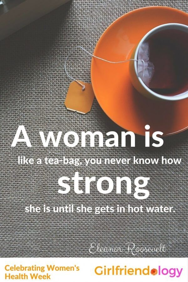 Women's health quotes inspiration
