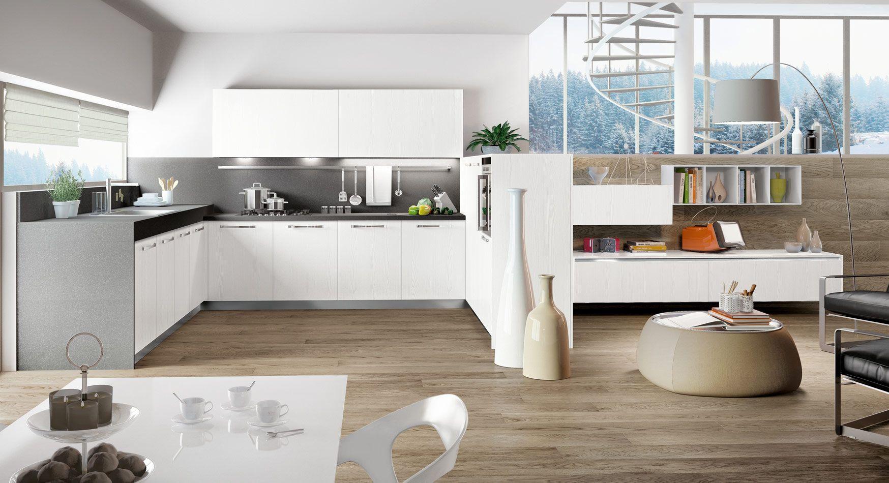 Kitchen Designs That Pop   White laminate, Kitchen design and Kitchens