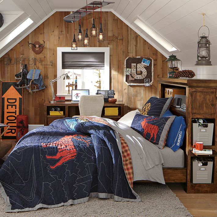 forter cool looking room grey sheets