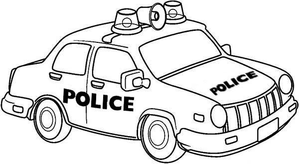 Drawing Of Police Car Coloring Page Color Luna Cars Coloring Pages Race Car Coloring Pages Truck Coloring Pages