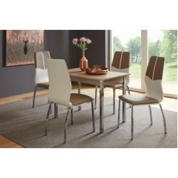 Photo of Dining group Cueva with 4 chairs Brayden Studio