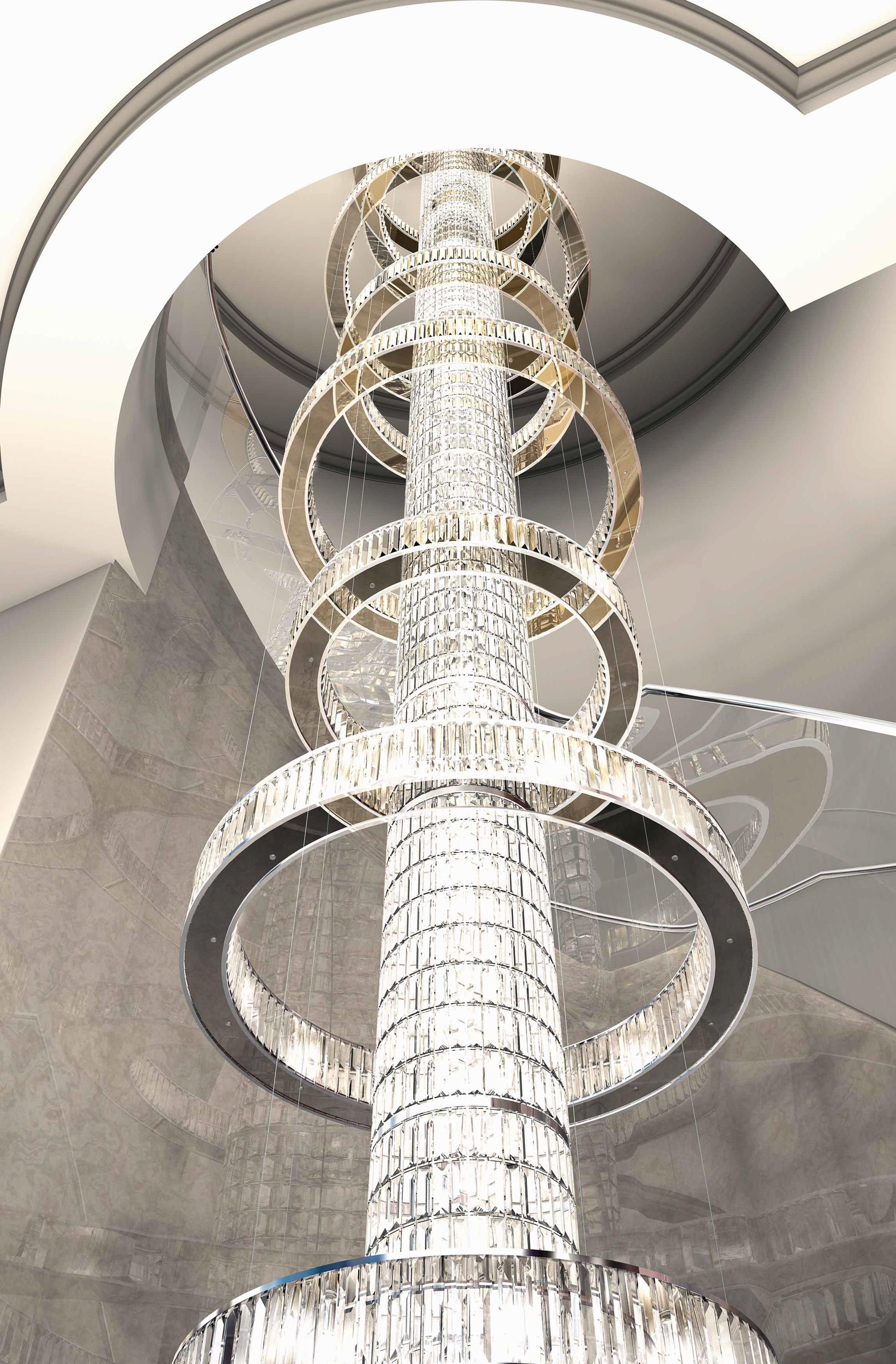 Bespoke chandelier jewel special staircase designer chandeliers bespoke chandelier jewel special staircase designer chandeliers from windfall all information arubaitofo Images