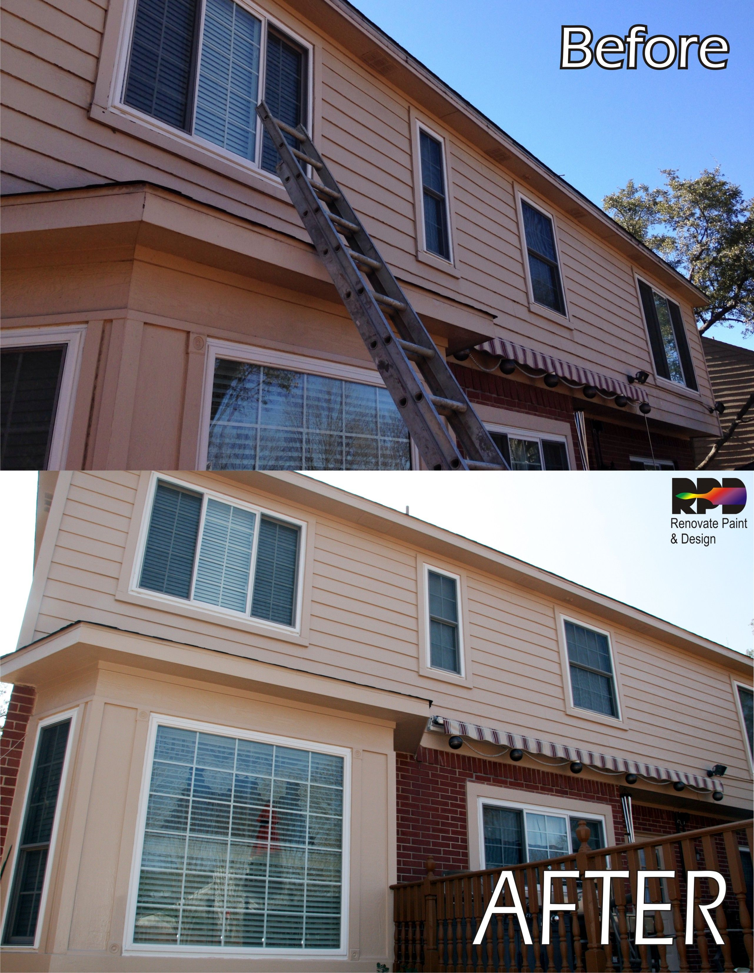 Siding Repairs Wood Repairs And A Fresh Coat Of New Paint Color Enhanced And Brought This Home Back To Its Beauty Siding Repair New Paint Colors Wood Repair