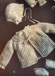 A couple of my favorite vintage crochet patterns-complete patterns