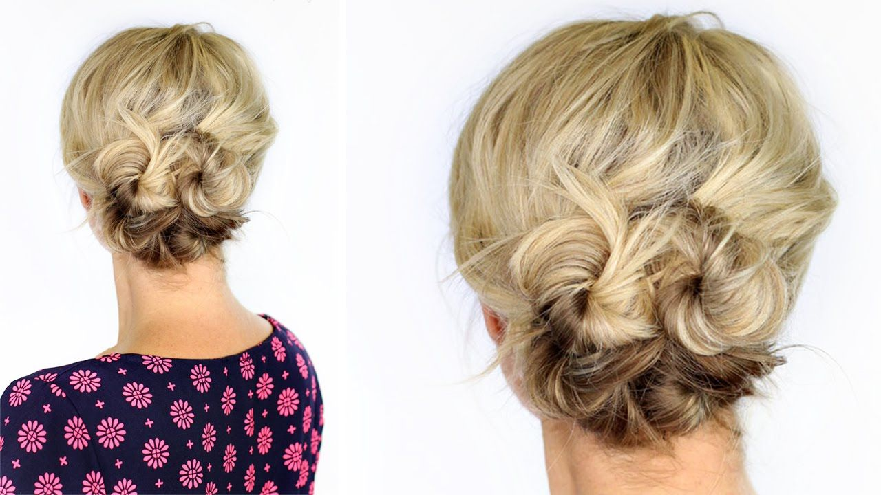 Updo Hairstyles For Short Hair Having Short Hair This Summer Has Been Amazingit's Been So Hot Out