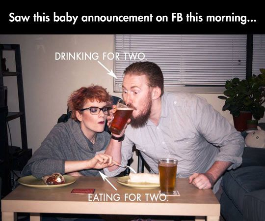 17 Best images about Baby Announcement Ideas – Funny Expecting Baby Announcements
